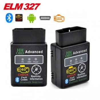 LSON ELM327 Bluetooth OBD2 Auto Car Diagnostic Scan Tool - Black
