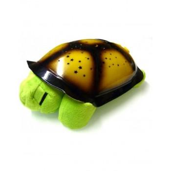 Προτζέκτορας φώς νυκτώς και μουσική χελώνα