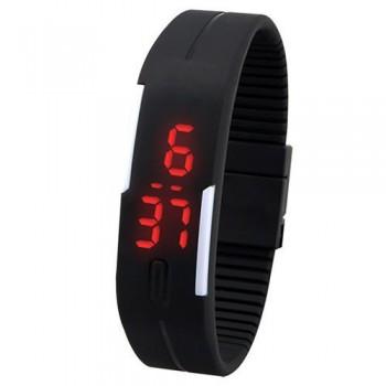 Σπορ Βραχιόλι σιλικόνης με φωτεινή ένδειξη LED ρολόι ΟΕΜ (25731)