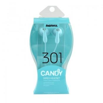 Earphone Remax RM-301 Candy-Μπλέ