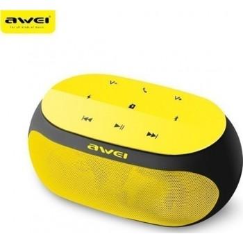 Awei Y-200 Φορητό Bluetooth Ηχείο Κίτρινο