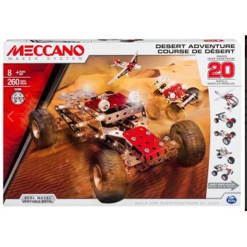 TOY MECCANO 20 MODEL SET - DESERT ADVENTURE (91775)