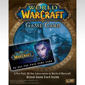 Blizzard World Of Warcraft 60 Days Card