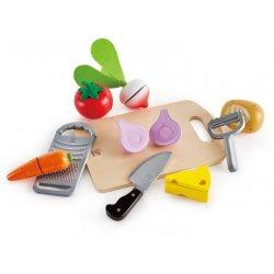 Hape Chef's Choice (E3154B) - Τα Υλικά Μαγειρικής Του Σεφ - 10Τεμ.