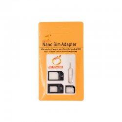 Αντάπτορας Nano SIM & Micro SIM SET