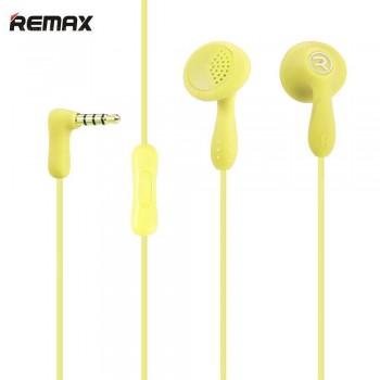 Earphone Remax RM-301 Candy-Κίτρινο