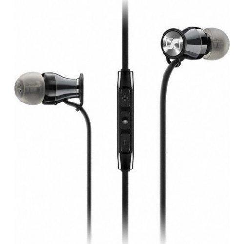 SENNHEISER Momentum M2-In-Ear-i Ακουστικά με Μικρόφωνο για συσκευές apple Μάυρο