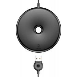 Baseus Donut Wireless Charging Pad (Qi) Μαύρο WXTTQ-01/BSWC-09