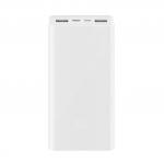 Xiaomi Mi Powerbank 3 20.000mAh Γρήγορης Φόρτισης PLM18ZM Λευκό