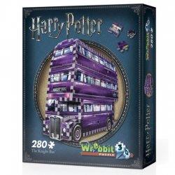 Wribbit Harry Potter 3D Puzzle The Knight Bus 280pcs