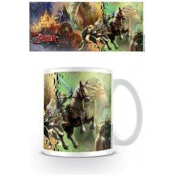 Legend of Zelda Twilight Princess Mug Characters 350ml