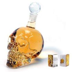 Κρυστάλινο μπουκάλι κρανίο 550ml OEM
