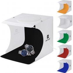 PULUZ Tent Box με 2 LED Panels 1100LM και 6 Χρώματα