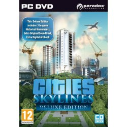 Cities Skylines (Deluxe Edition) PC Steam CD KEY (κωδικός μόνο) (PC)