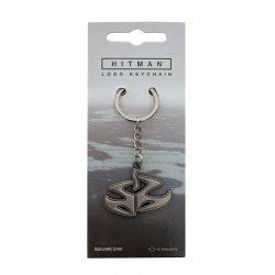 Hitman Logo Metal keychain